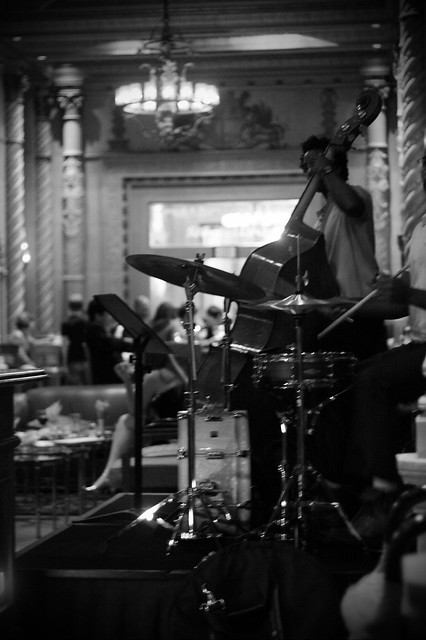 jazz band at Biltmore bar