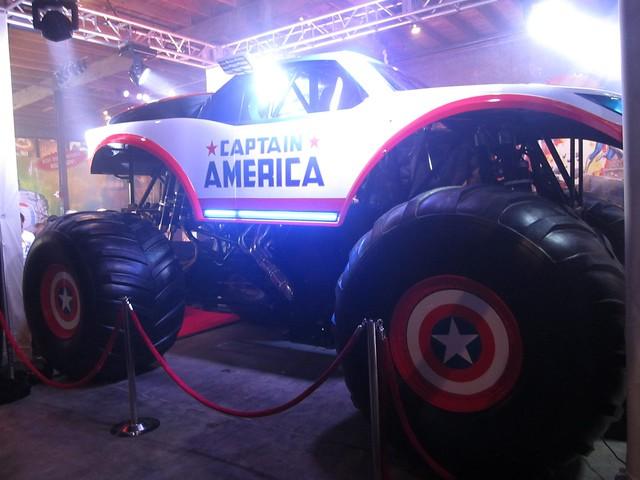 Captain America Monster Truck 2