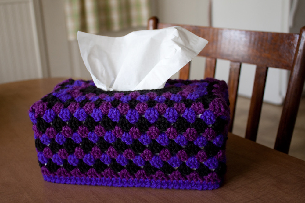 Stormy Weather Tissue Box Cover