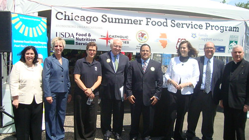 Chicago SFSP partners kick off the city's summer feeding season.