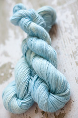 'Hush' Baby Alpaca/Wool/Silk Single ply DK