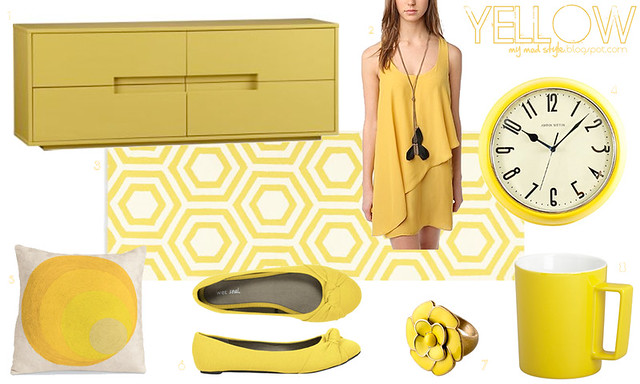 Color Collage - YELLOW