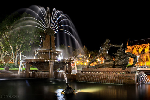 The Archibald Fountain