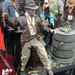 San Diego Comic-Con 2011 - Indiana Jones statue (Sideshow Collectibles booth)