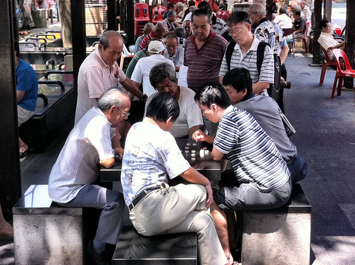 The Chess Men of Chinatown.