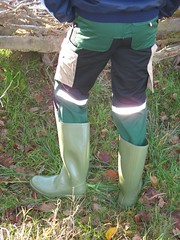 Nora Dolomite and green Work Zone pants (Noraboots1) Tags: boots rubber nora anton wellies gummistiefel dolomite gummistvler stvler