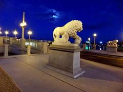 St. Augustine Florida (Robert Lz) Tags: bridge st island bay florida lions marble anastasia augustine medici waterway matanzas a1a bascule elzey intracostal of robertlz 77million 19251927