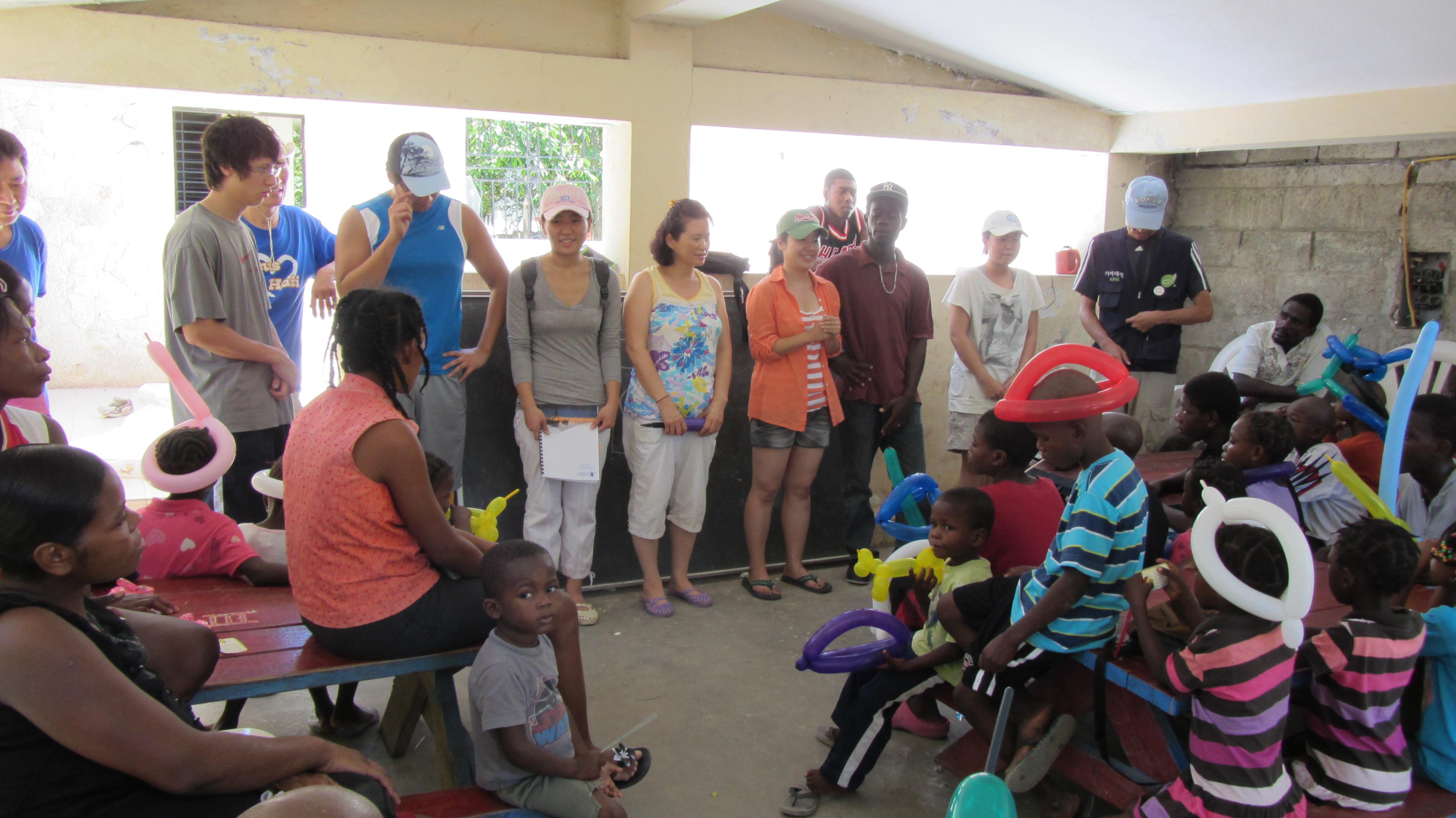 2011 아이티단기선교 고아원 (3)