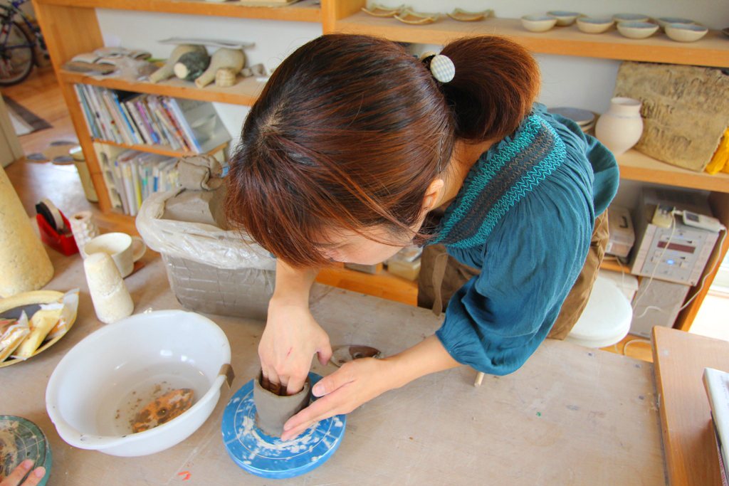 Pottery Artist Junko Yamamoto data collection (3)