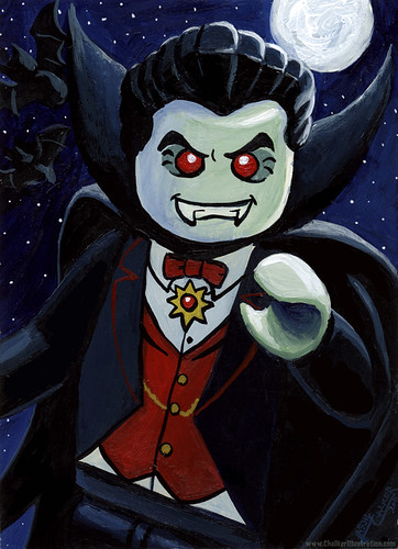 Lego Dracula by Manly Art