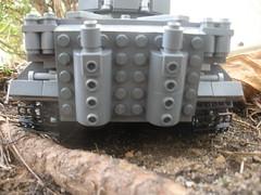 Panzerkampfwagon VI Tiger 1 (BrutalCroat42) Tags: tank lego mg german cannon ww2 1942 mm 88 heavy 42 millimeter brickarms brickfair