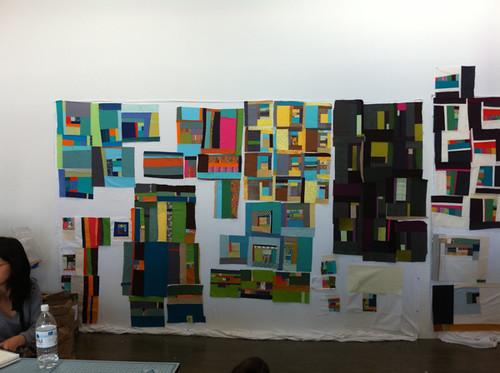 Design Wall - left side