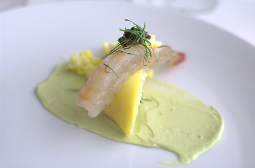 Crystal Bay prawn causa