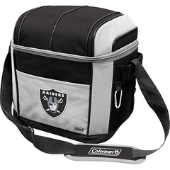 Oakland Raiders Coleman 24 Pack/Can Cooler Bag