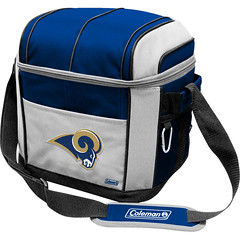 St Louis Rams Coleman 24 Pack/Can Cooler Bag