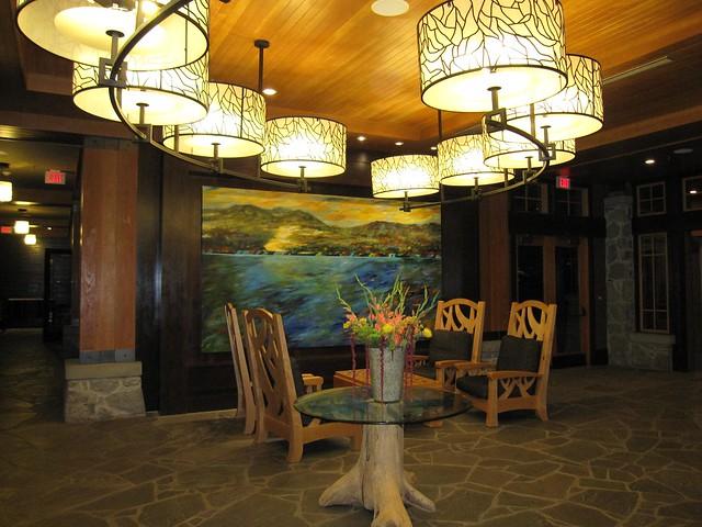 Nita Lake Lodge lobby