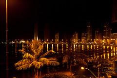 Night shot... (Pablin79) Tags: trip light sea summer building beach brasil digital canon eos reflex holidays palm 5d vacations pipa balneariocamboriu markii 70200mm 2011 canonef70200mmf4lisusm canoneos5dmarkii 5dmkii pabloreinsch pabloreinschphotography pablin79