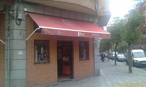 BAR CAFE KEPA, Gª EGUIA BILBAO by LaVisitaComunicacion