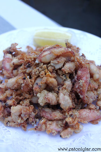 Fried Baby Squid (Calamar a la Romana), Can Ramonet Restaurant