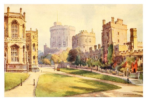 016- El pabellon menor- Windsor castle 1910- Ernest William Haslehustr