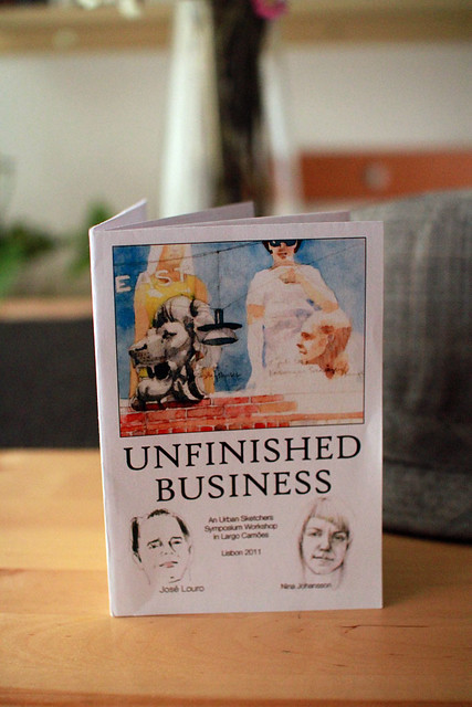 Unfinished Business' leaflet