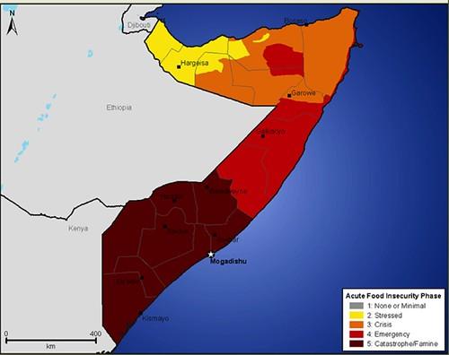 FEWSNET Horn of Africa map