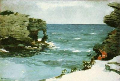 Winslow-Homer-Rocky-Shore--Bermuda-84354