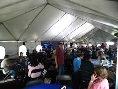 Me in Tweetup Tent