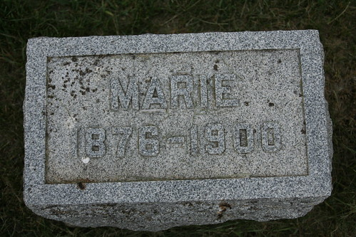 Tombstone of Marie Kiesel