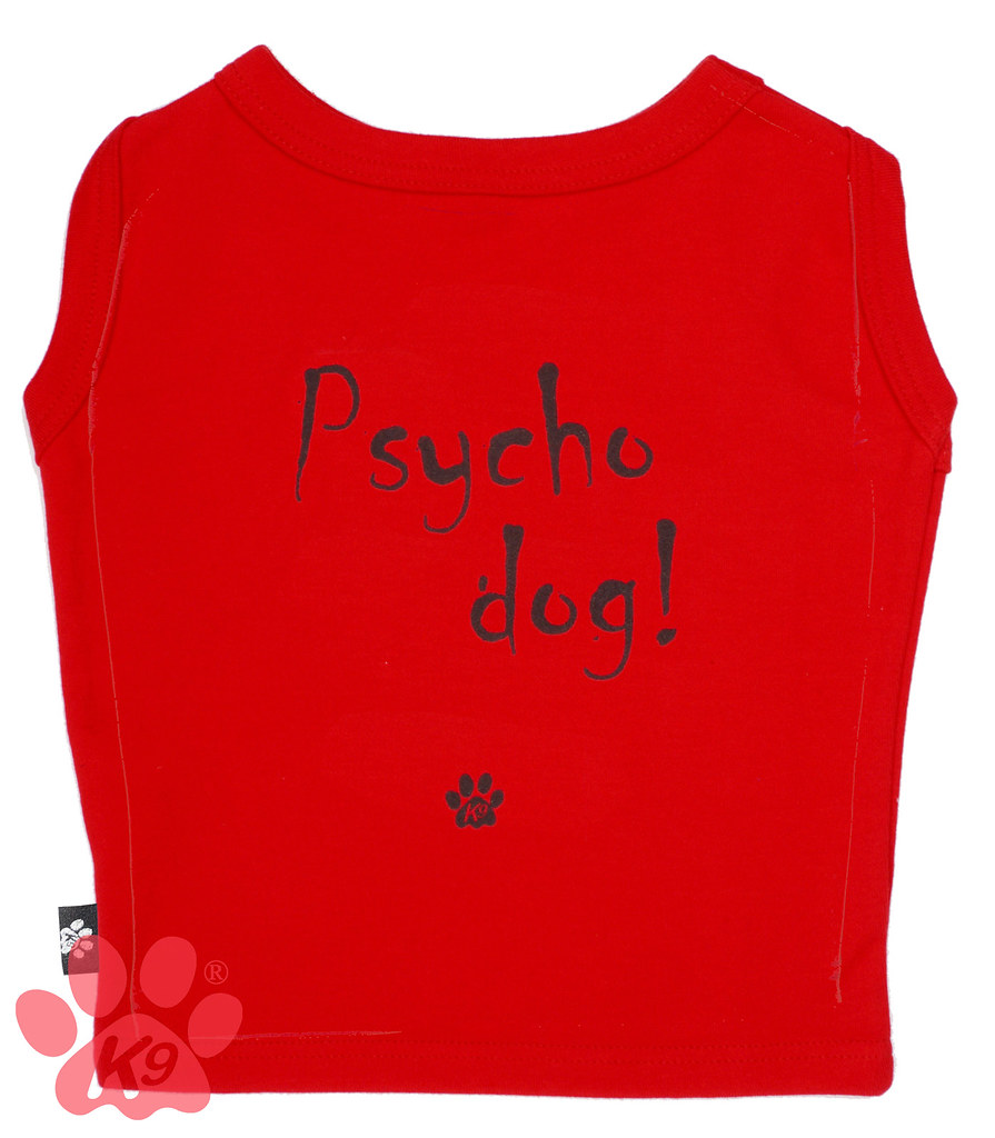 Psycho Dog! Doggy T - Red