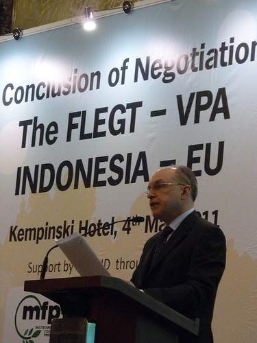 The FLEGT between Indonesia & the EU