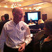 Florida Governor, Rick Scott & Pam Moore talking Twitter strategies at the eFlorida Enterprise Florida Meeting in Tampa