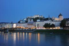 Salzburg by night (swissgoldeneagle) Tags: salzburg night dark austria sterreich shot nacht dunkel oesterreich