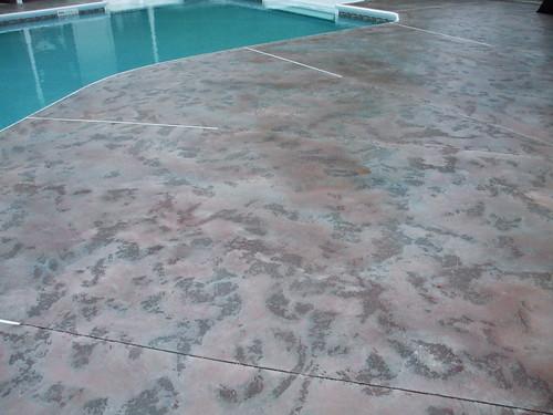 Pool Deck Slate Texture