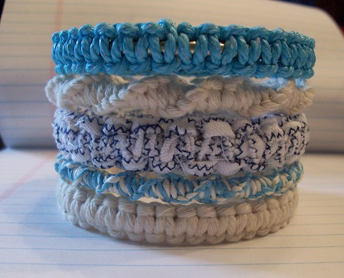 Stacked Square Knot Bangles