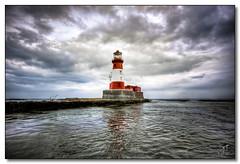 Longstone Lighthouse, Farne Islands (rjt208) Tags: sea england lighthouse coast northumberland northeast farneislands trinityhouse gracedarling longstone forfarshire longstonelighthouse rjt208 longstonerock outerfarne mygearandme