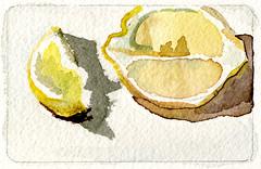 lemons tiny painting 1