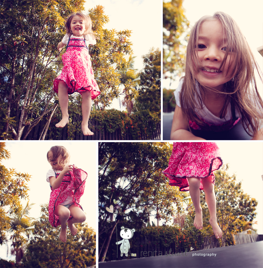 New Trampoline fun.