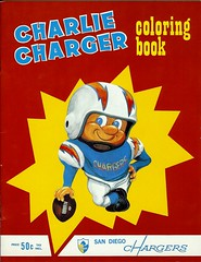 Charlie Charger Coloring Book