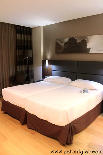 Bedroom, Eurostars Hotel Das Letras
