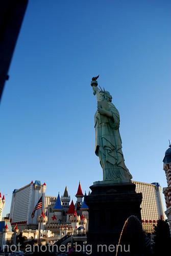 Las Vegas, Nevada - New York New York Statue of Liberty