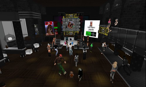 Bootie Mashup Party in Second Life