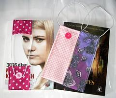 Marca Páginas (RenataCardoso=) CosturaCriativa) Tags: marca livro páginas