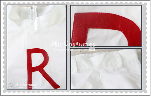 Pokemon Team Rocket James Cosplay Costume_1