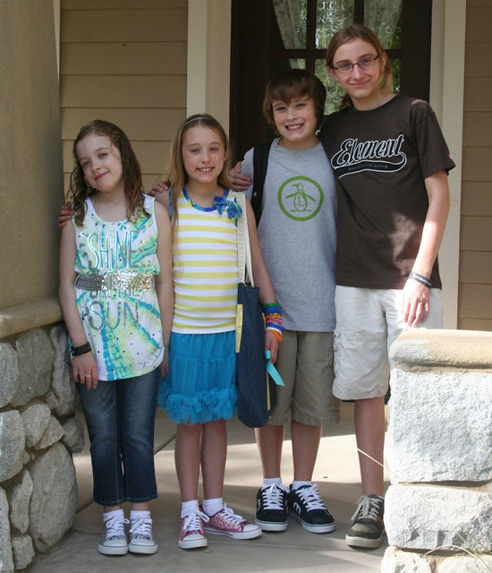 kids first day of school 2011