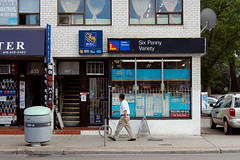 637 Bloor St W - August 5, 2011 (collations) Tags: toronto ontario architecture documentary vernacular streetscapes builtenvironment cornerstores conveniencestores urbanfabric varietystores