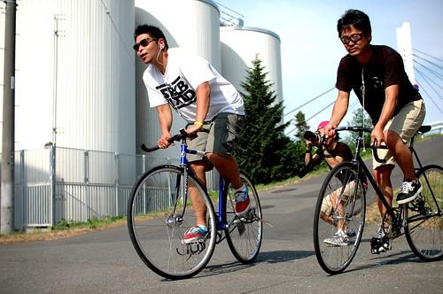 2011/08/07@Odori Filming