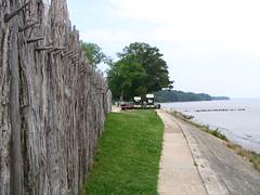 Jamestowne Wall