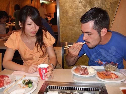 0102 - 07.07.2007 - Ginza con Mai