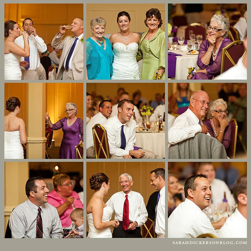 Elms Resort Excelsior Springs wedding reception
